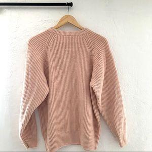 Partners Mervyns Sweaters - Vintage Partners Mervyns Light Pink Knit Sweater